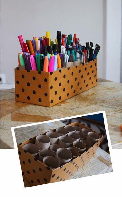 Krabice na spoustu pastelek