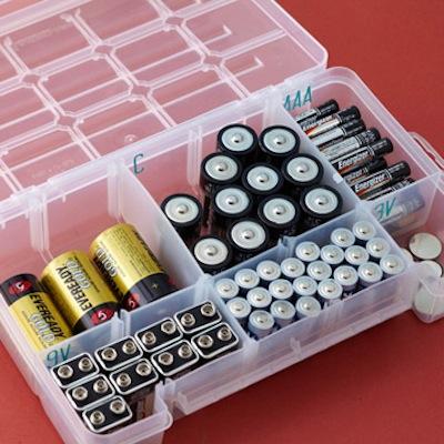 Konec hledání baterií